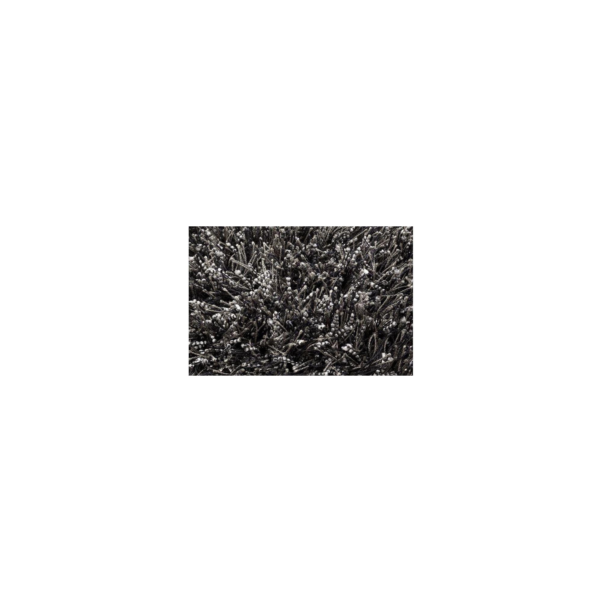 Linie Design Sprinkle Black Shag Rug - 230cm x 160cm at Tesco Direct