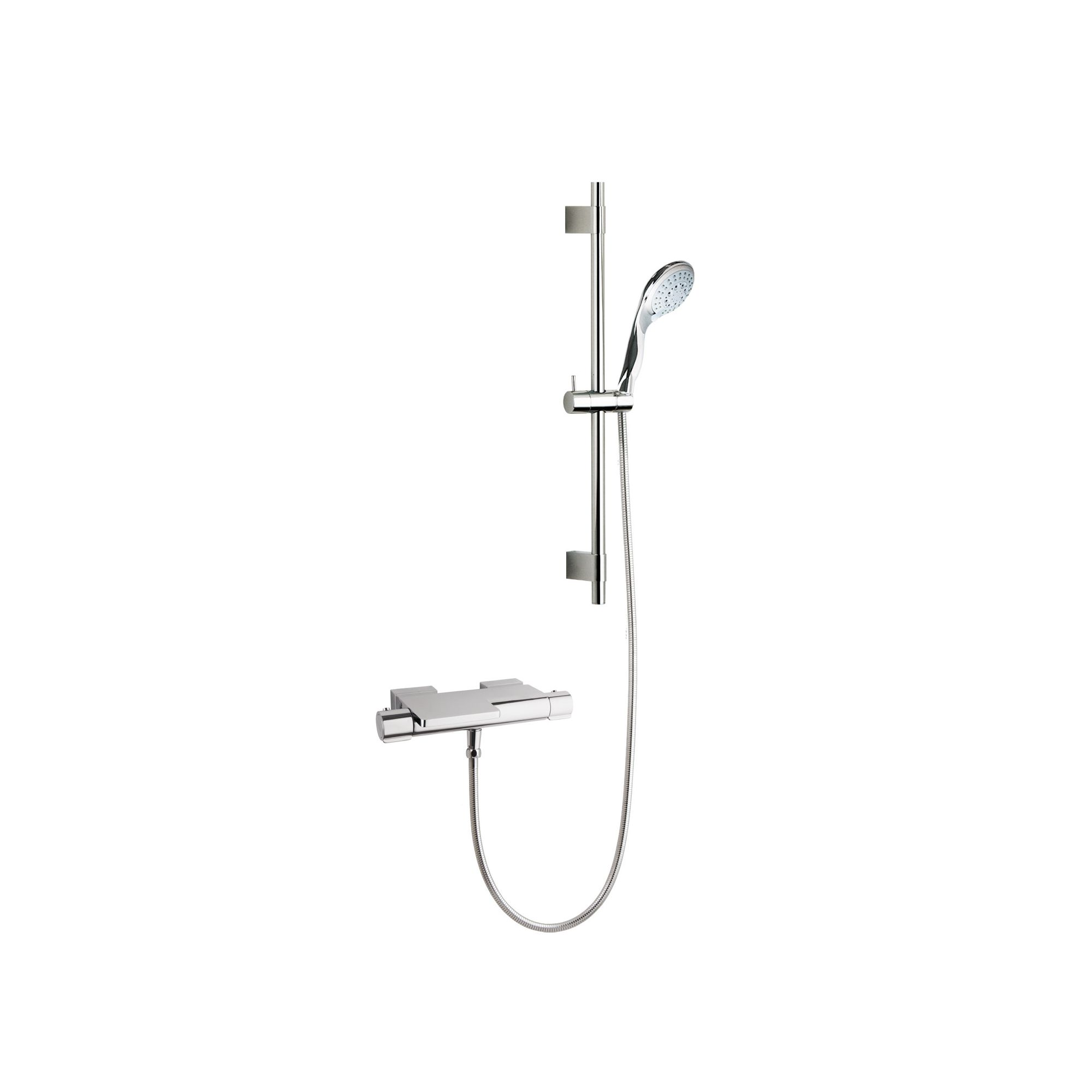 Ramon Soler Thermoarola Exposed Thermostatic Bath/Shower Mixer with Jupiter Shower Kit at Tescos Direct