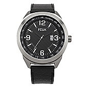 French Connection Mens Leather Watch - FC1113B