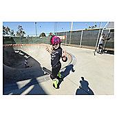 Raskullz Helmet Krash Zebra Mohawk Size 50cm - 54cm Pink