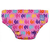 Bambino Mio Swim Nappy (Large Pink Whales 9-12kg)