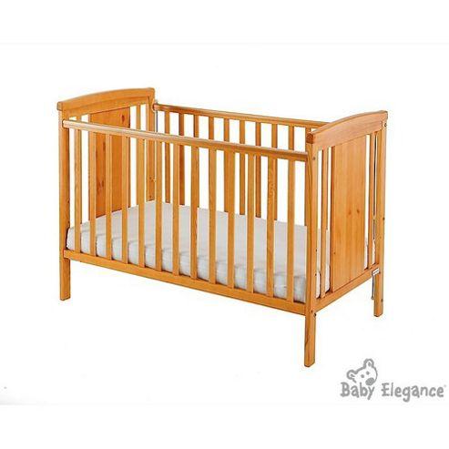 Baby Elegance Zara Cot - Pine