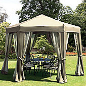 Tenterden Steel Hexagonal Gazebo