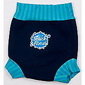 Splash About Happy Nappy Large (Navy Blue Lagoon)