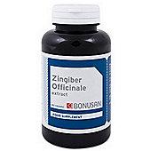 Bonusan Zingiber Officinale Extract 60 Veg Capsules