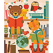 Petit Collage Story Time 64-Piece Tin Canister Puzzle