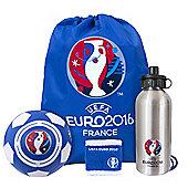 Euro 2016 Players Gift set (mini ball, Bottle, wristband)