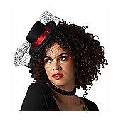 Fancy Dress - Burlesque Mini Top Hat