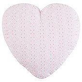 Tesco Kids Pretty Heart Cushion