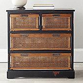 Safavieh Daytona 4 Drawer Storage Unit - Black