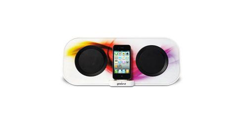 Groov-e GVSP8671 i-SpeakerDock-50 Designer Speaker System for iPod/iPhone