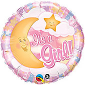 18' Its A Girl Celestial Pink (each)
