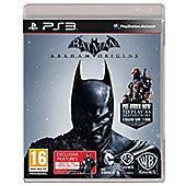 Batman Arkham Origins: Tesco Exclusive Black Mask Challenge Map Pack (PS3)