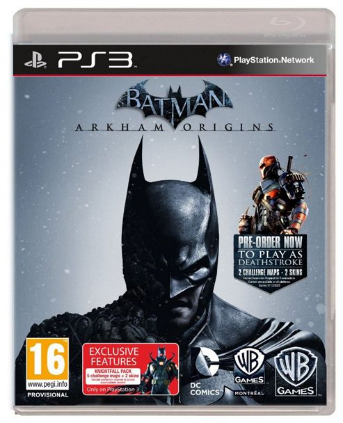 Batman Arkham Origins: Tesco Exclusive Black Mask Challenge Map Pack (PS3)