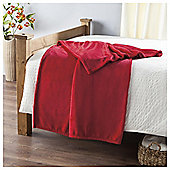 Super Soft Fleece Throw, Flame