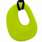 Jellystone Organic Teething Pendant in Lime Aid