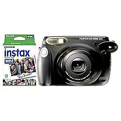 Fuji Instax Wide 210 Instant Camera with 10 shots