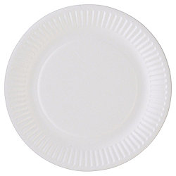 Tesco Basic Paper Plates 18CM 25 Pack