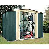 8ft x 9ft Premier Eight Metal Shed (2.45m x 2.78m)