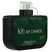 Kit Emergency Micro USB Battery Charger - Black
