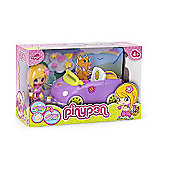 Pinypon Little Doll Car - Purple