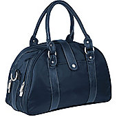 Laessig Glam Shoulder Changing Bag Navy