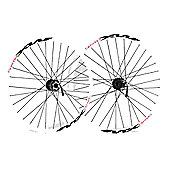 Momentum Boulder MX/Deore 26 Disc Wheel: Pair.