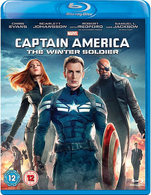 Marvel's Captain America: The Winter Soldier Bluray
