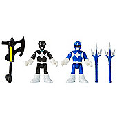 Imaginext Mighty Morphin Power Rangers Blue and Black