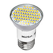 MiniSun ES E27 3W 60 SMD LED Spot Light Bulb Cool White