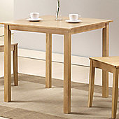 G&P Furniture Torino Square Dining Table