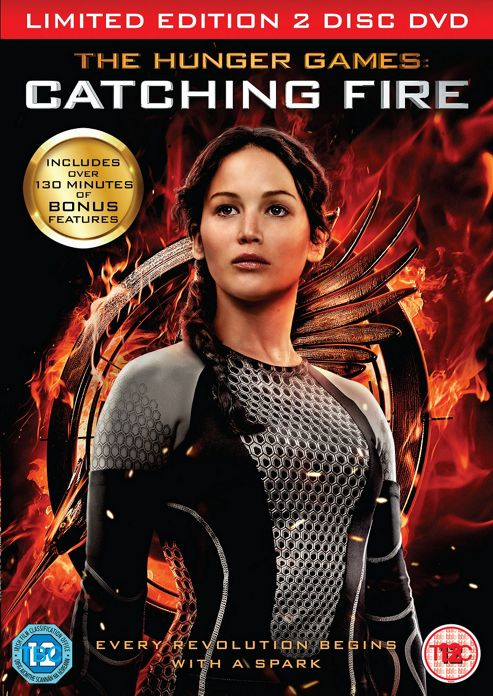 The Hunger Games: Catching Fire - Limited Edition 2 Disc DVD