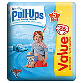 Huggies Pull Ups Size 5 Boy Econ Pack 26