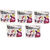 Furby Figure Charms Blind Bag 5 Randomly Selected 5 Item Bundle