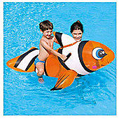 "Bestway 63"" Clown Fish Swim Ride-On"