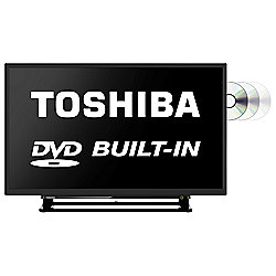 Toshiba 32D1533DB 32 Inch HD Ready 720p LED TV with Integrated DVD Player