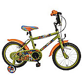 "Urban Rider Boys 16"" Bike Green"