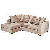 Toronto Fabric Corner Sofa Left Hand Facing, Mink
