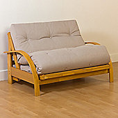 Kyoto New York 2 Seater Convertible Sofa Clic Clac Bed - Natural