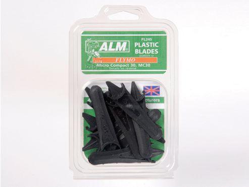 Alm Fl245 Plastic Blades Half Moon