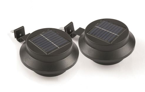 Solar House Wall Lights : Greenhurst Solar Gutter Lights 2pc 05050018041385