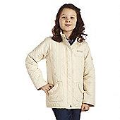 Regatta Kids Girls Phoebus Jacket Vanilla 32
