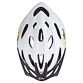 Via Velo Bike Helmet, White 54-58cm