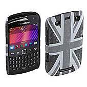 Trendz Hard Clip-On Case for BlackBerry Curve 9360 - Distressed Union Jack