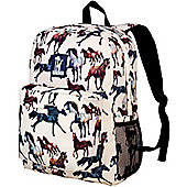Children's Backpack with Front Pocket - Horse Dreams