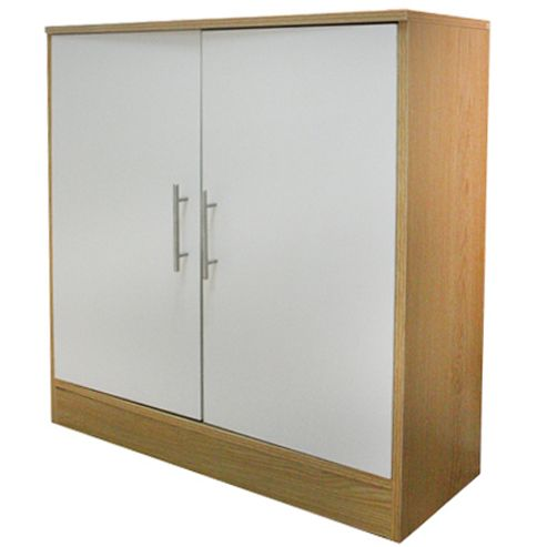 Storage Cupboard White Beech From Our Shelving Storage Units