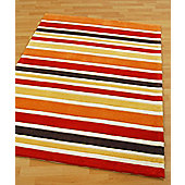 Origin Red Rainbow Orange Rug - 150cm x 80cm