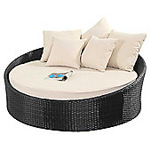 Luxan WGF-314 Port Royal Prestige Black Small Daybed