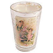 Ian Snow Victorian Filled Glass Votive - Gold