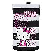 HELLO KITTY Cleaning Phone Sock, Black & White (SKHK-M1-BWS1-BC)